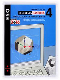 MATEMATIQUES 4ESO QUADERN DESTRESES BASIQUES RESOL. PROBL.3 (3.16)