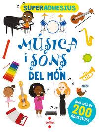 SUPERADHESIUS - MUSICA I SONS DEL MON