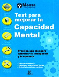 Tests Para Mejorar La Capacidad Mental - Aa. Vv.
