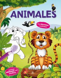 Animales - Gran Coloreable - Aa. Vv.