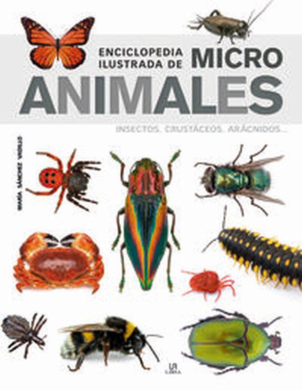 ENCICLOPEDIA ILUSTRADA DE MICRO ANIMALES - INSECTOS, CRUSTACEOS, ARACNIDOS. ..