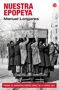 nuestra epopeya - Manuel Longares