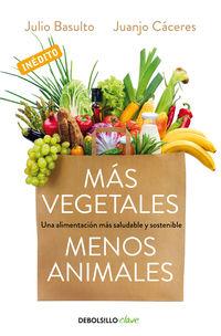 Mas Vegetales, Menos Animales - Julio Basulto / Juanjo Caceres