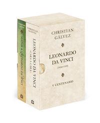 Leonardo Da Vinci - 500 Años (estuche) - Matar A Leonardo Da Vinci + Leonardo Da Vinci - Cara A Cara - Christian Galvez