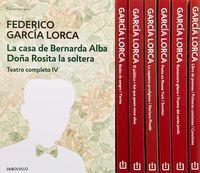 (ESTUCHE) FEDERICO GARCIA LORCA (OBRA COMPLETA)