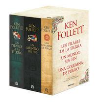 Trilogia Pilares De La Tierra (estuche) - Ken Follett
