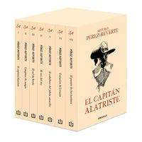 (ESTUCHE) CAPITAN ALATRISTE (7 VOLS. )