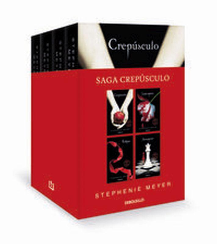 SAGA CREPUSCULO (PACK) - CREPUSCULO + LUNA NUEVA + ECLIPSE + AMANECER