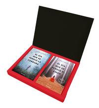 caja regalo de lujo javier castillo (el dia que se perdio la cordura + el dia que se perdio el amor) (ed. limitada) - Javier Castillo