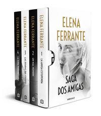 (estuche) la amiga estupenda (tetralogia) - Elena Ferrante