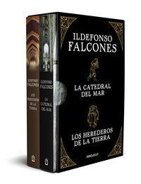(estuche) ildelfonso falcones (los herederos de la tierra + la catedral del mar) - Ildefonso Falcones