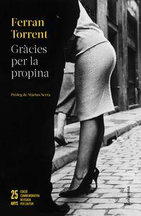 GRACIES PER LA PROPINA - 25 ANYS