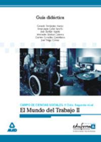 ESA - GUIA DIDACTICA EL MUNDO DEL TRABAJO II