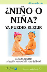 ¿ Niño O Niña ? Ya Puedes Elegir - Adriana Baretta