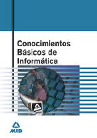 CONOCIMIENTOS BASICOS DE INFORMATICA