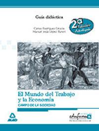 ESA - GUIA DIDACTICA CIENCIAS SOCIALES - ECONOMIA Y MUNDO DEL TRABAJO
