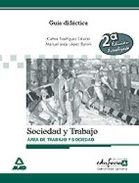 ESA - GUIA DIDACTICA SOCIEDAD Y TRABAJO CANARIAS