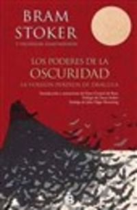 Poderes De La Oscuridad, Los - La Version Perdida De Dracula - Bram Stoker