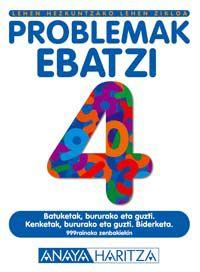 LH - MATEMATIKA KOAD. 4 - PROBLEMAK EBATZI