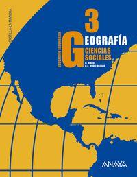 ESO 3 - GEOGRAFIA C. MANCHA