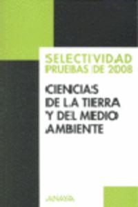 SELEC. CIENCIAS DE LA TIERRA Y DEL MEDIO AMBIENTE (PRUEBAS 2008)