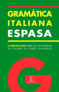 GRAMATICA ITALIANA ESPASA