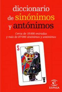 Dicc. De Sinonimos Y Antonimos (mini) - Aa. Vv.