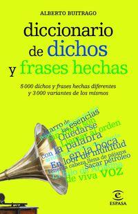 DICC. DE DICHOS Y FRASES HECHAS
