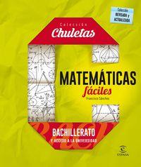 Bach - Matematicas Faciles Para Bachillerato - Francisco Sanchez