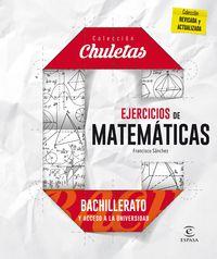 Bach - Ejercicios Matematicas Para Bachillerato - Francisco Sanchez