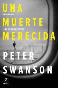 Una muerte merecida - Peter Swanson