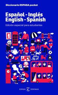 DICCIONARIO POCKET ESPAÑOL / INGLES - INGLES / ESPAÑOL