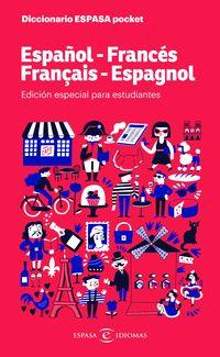 DICCIONARIO POCKET ESPAÑOL / FRANCES - FRANCES / ESPAÑOL