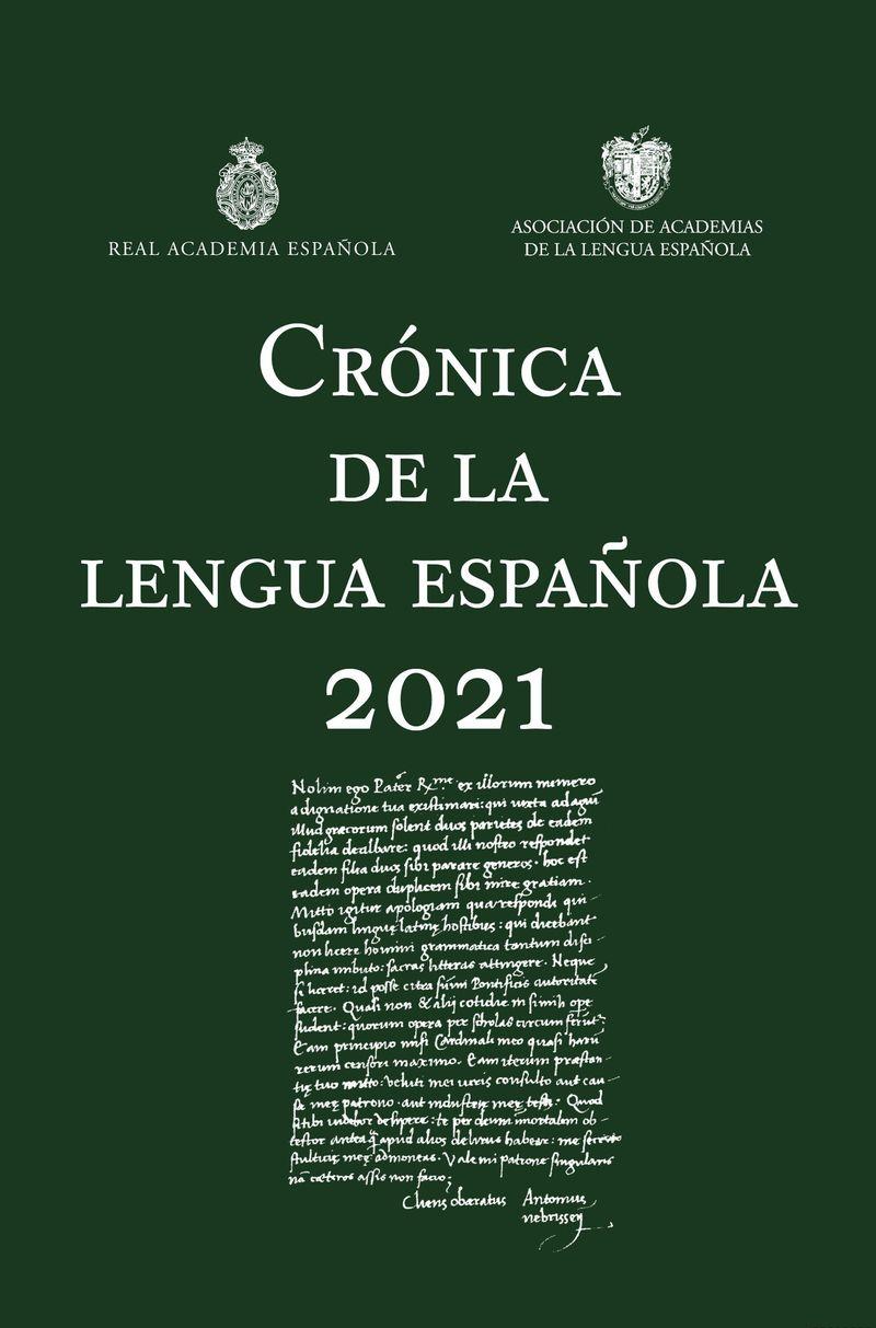 CRONICA DE LA LENGUA ESPAÑOLA 2021