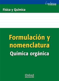 ESO 3 / 4 - FISICA Y QUIMICA FOR ORGANICA