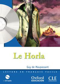 Horla, Le (+cd)  - Lect 2 Eso - Guy De Maupassant