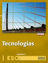 Eso 1 / 2 - Tecnologias I (trim. )  - Adarve - Aa. Vv.