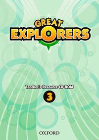 EP 3 - GREAT EXPLORERS 3 TR CD-ROM