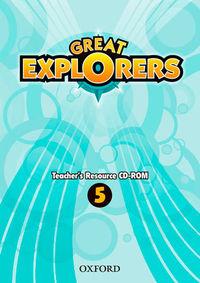 EP 5 - GREAT EXPLORERS 5 TR CD-ROM