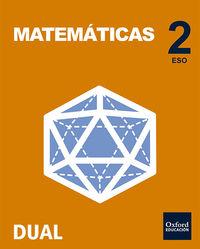 ESO 2 - MATEMATICAS (PACK) - INICIA DUAL