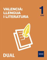 ESO 1 - LENGUA C. VAL Y LITERATURA (VAL) - INICIA DUAL