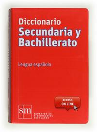 DICC. SECUNDARIA Y BACH LENGUA ESPAÑOLA (2012) (CON ACCESO ON-LINE)