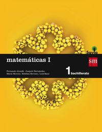 BACH 1 - MATEMATICAS I (CC. NN. ) - SAVIA