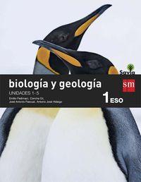 Eso 1 - Biologia Y Geologia (trim. ) - Savia - Aa. Vv.