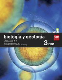 Eso 3 - Biologia Y Geologia (trim. ) - Savia - Aa. Vv.