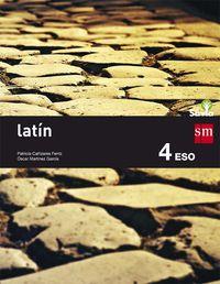 eso 4 - latin - savia - Aa. Vv.