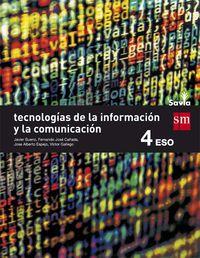 ESO 4 - TECNOLOGIA DE LA INFORMACION Y LA COMUNICACION - SAVIA