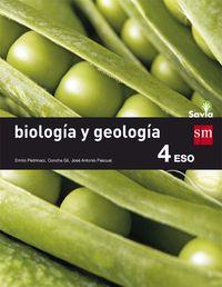 ESO 4 - BIOLOGIA Y GEOLOGIA (TRIM. ) - SAVIA
