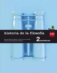 Bach 2 - Historia De La Filosofia - Savia - Aa. Vv.