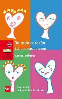 DE TODO CORAZON - 111 POEMAS DE AMOR